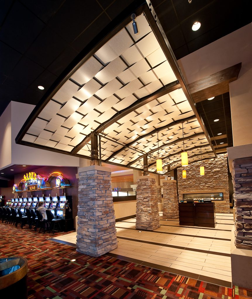 Prairie Band Casino, Construction completed by Kendall Construction
