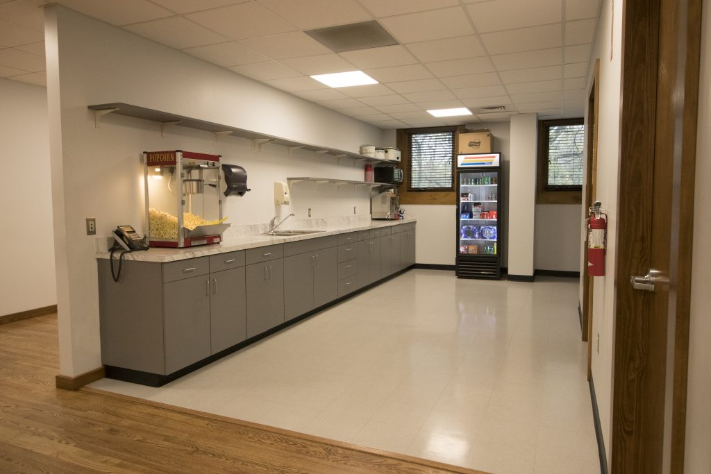 Photo of Iron Workers Union Interior Kitchenette Area