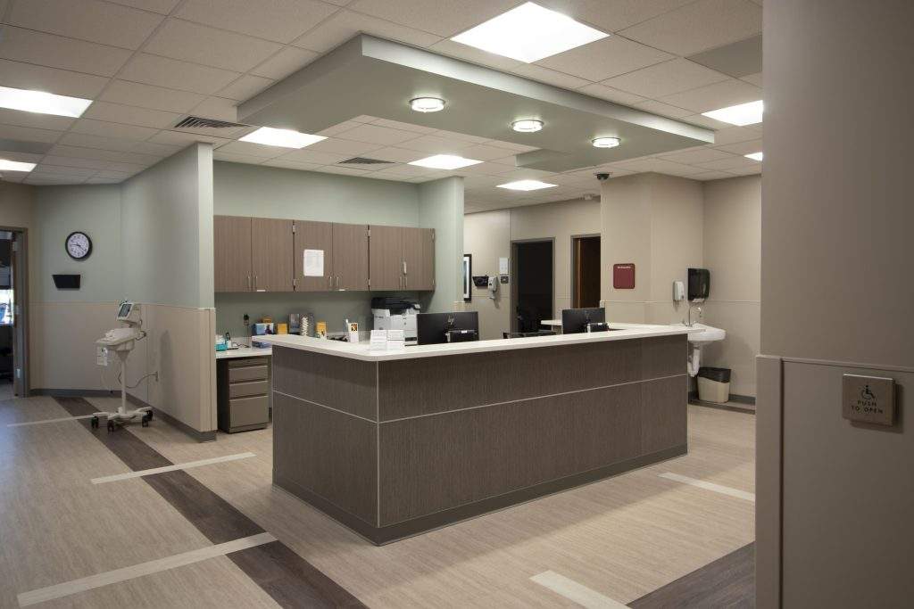Stormont Heart Center | Construction completed by Kendall Construction