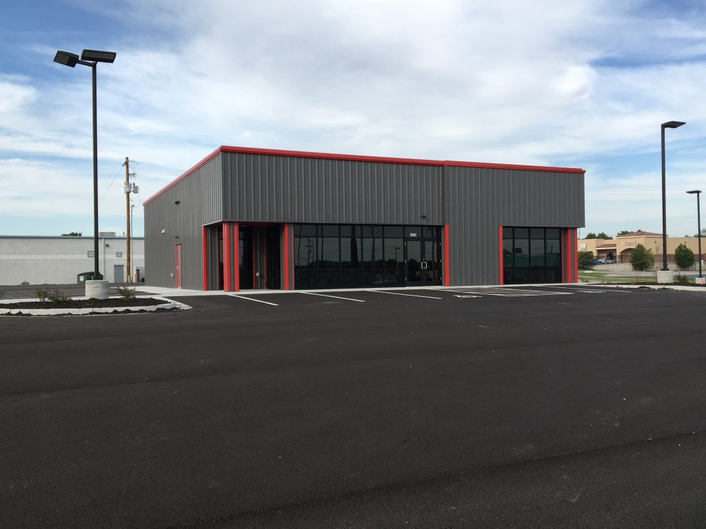 Image Of Lewis Toyota Topeka Construction Completed By Kendall
