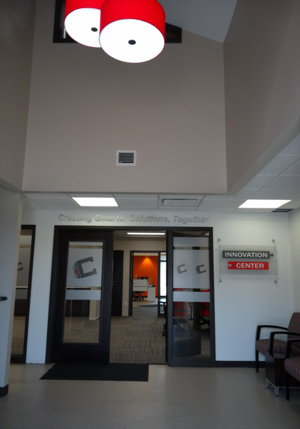 Century Business Solutions Project | Interior Construction completed by Kendall Construction